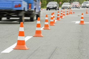Repair road signs