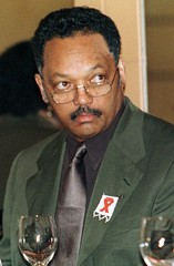 FILE PHOTO OF JESSE JACKSON IN JOHANNESBURG.