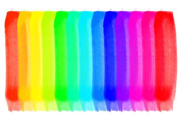 Raibow colors