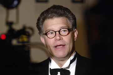 Humanitarian Award recipient Franken is interviewed at Human Rights Campaign's Los Angeles Gala Dinner in Los Angeles