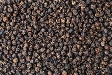 Canvas Prints Spices Black pepper corn background