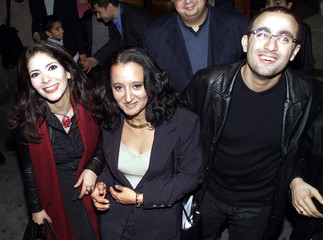 FAMOUS EGYPTIAN MOVIE STARS ZAKI AND EL-SAQA ARRIVE TO DISNEY'S ARABICVERSION OF ATLANTIS CARTOON IN ...