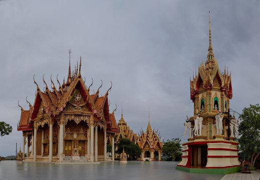 Wat Tham Sua and Wat Tham Khao Noi in Tha Muang, Kanchanaburi