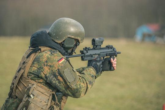 Bundeswehr Schießübung