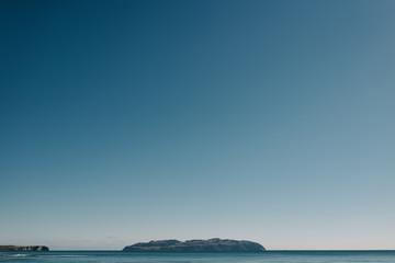 alaskan horizon ocean island
