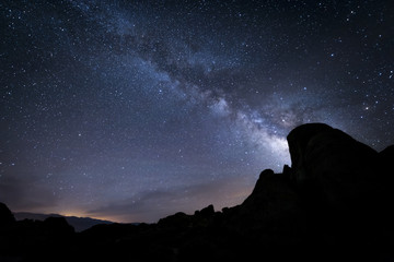Milky Way Night Sky