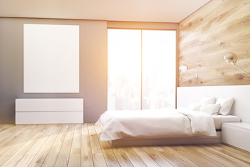 Poster bedroom, side, toned