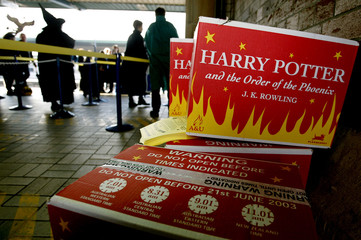 BOXES OF THE NEW HARRY POTTER BOOK SIT ON TRAIN PLATFORM BEFORE THEIRRELEASE IN SYDNEY.