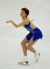 HUNGARY'S SEBESTIEN PERFORMS DURING THE FREE SKATING PROGRAM AT THEEUROPEAN FIGURE SKATING ...