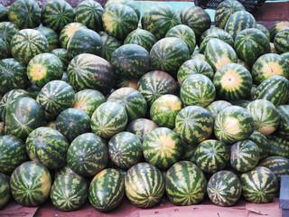Watermelons heap