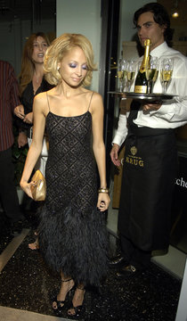 Nicole Richie pauses at the second annual Hollywood Style Awards in California