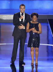 Sherri Shepherd and Cameron Mathison host the 35th Annual Daytime Emmy Awards at the Kodak theatre in Hollywood