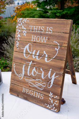 how to become a wedding decorator quot wedding reception sign decor quot stock photo and royalty 4896