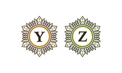 Emblem Initial Y Z