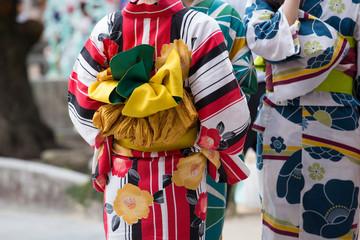"Japanese traditional casual summer costume ""Yukata""  Wall mural"