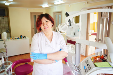 Portrait of a Kazakh Dentist