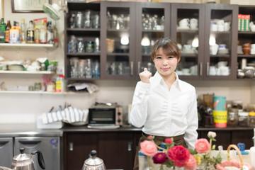 カフェ店員・店舗