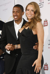 Actress Carey and husband Cannon at the AFI Fest 2009 gala screening of Precious: Based on the novel Push by Sapphire in Hollywood