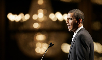 United States Senator Obama speaks before Chicago Council on Foreign Affairs