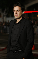 Cast member Casey Affleck poses at the premiere of Gone Baby Gone at the Bruin theatre in Los Angeles