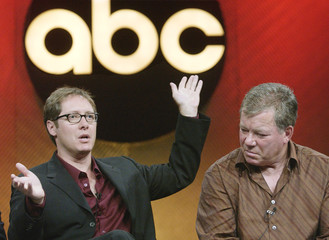 JAMES SPADER AND WILLIAM SHATNER AT ABC SUMMER PRESS TOUR.