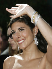 """Actress Jamie Lynn Sigler from """"The Sopranos"""" arrives at the 59th Primetime Emmy Awards in Los Angeles"""