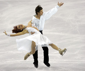 Ukraine's Zadorozhniuk and Verbillo perform at World Figure Skating Championships in Calgary