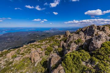 タスマニア島の山