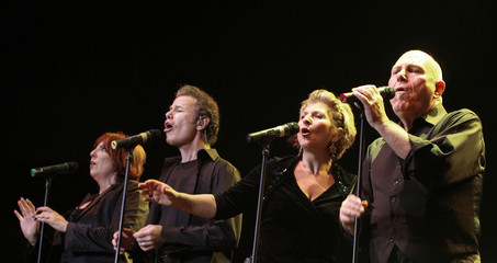 The Manhattan Transfer perform during the three-day Java Jazz Festival in Jakarta