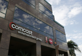 The offices and studios of Comcast Entertainment Group which operates E! Entertainment Television, the Style Network and G4 network are pictured in Los Angeles