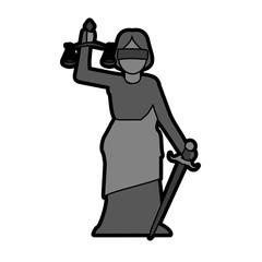 woman speaking on podium icon image vector illustration design