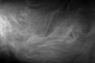 Smoky abstract texture