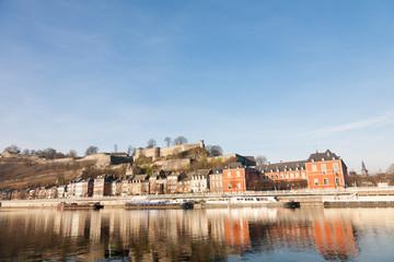 Namur cityscape, Belgium