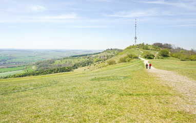 Ausflugsziel Hesselberg in Mittelfranken