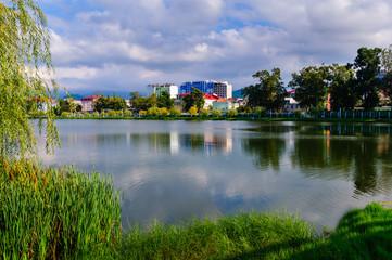 Lake Nurigeli and surroundings