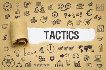 Tactics / Papier mit Symbole