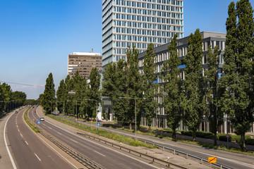 Straßenverkehr Stadt Straße Autobahn