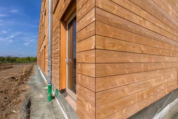 Holzverkleidung Isolierung Haus