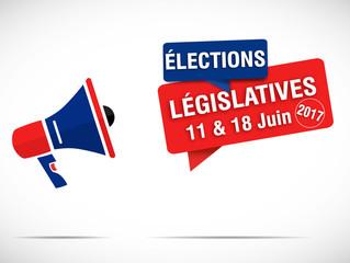 mégaphone : élections législatives 2017 (11 & 18 juin)