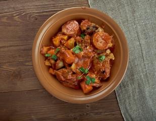 Portuguese-style  stew
