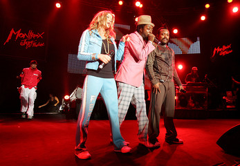 The Black Eyed Peas perform during the 40th Montreux Jazz festival in Montreux