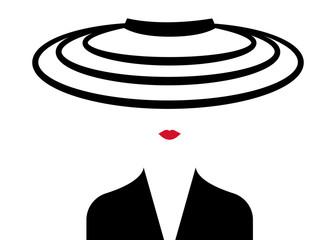 shop logo fashion woman . Company logo design