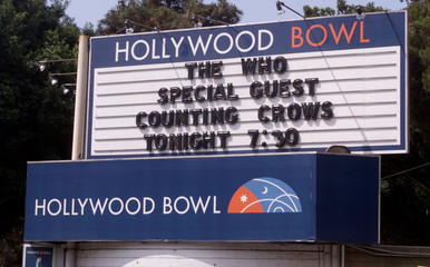 THE WHO CONCERT TOUR TO BEGIN AT HOLLWOOD BOWL.