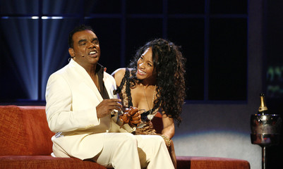 Ronald Isley performs Just Came Here To Chill at the 21st Annual Soul Train Music Awards in Pasadena