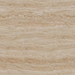 Beige marble travertine texture. Seamless square background, tile ready.