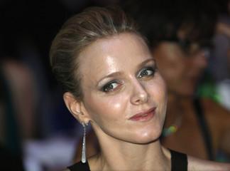 Charlene Wittstock, friend of Prince Albert II of Monaco, attends the 2009 FIA prize presentation gala in Monaco