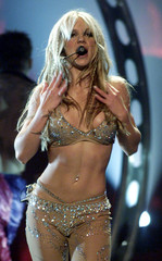 -FILE PHOTO 04MAY01 - Pop star Britney Spears' official Web site has been modified to comply with a ..