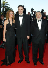 "ITALIAN ACTOR MARCORE AND INCONTRADA FOR ""IL CUORE ALTROVE"" AT 56THINTERNATIONAL FILM FESTIVAL IN CANNES."