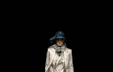 A model wears a creation from Acquastudio's 2008 autumn/winter collection during Fashion Rio Show in Rio de Janeiro