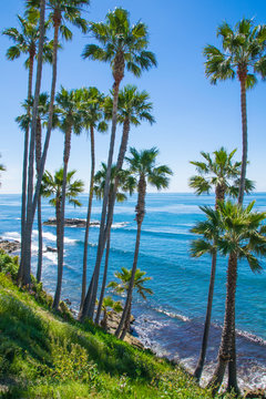 Laguna Beach, Orange County, Southern California Coastline